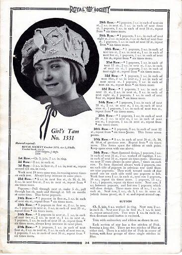 Royal Society Crochet & knitting No.15, New York, 1920 - Doris ...