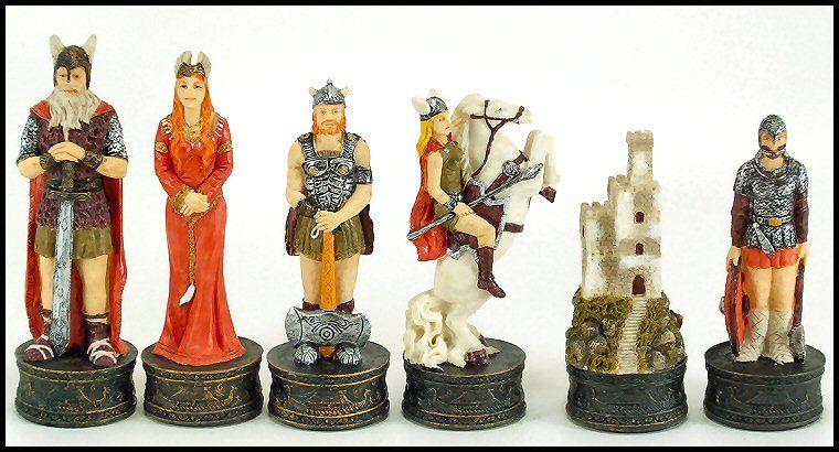 Viking Set Viking Chess Chess Game Set Chess Game