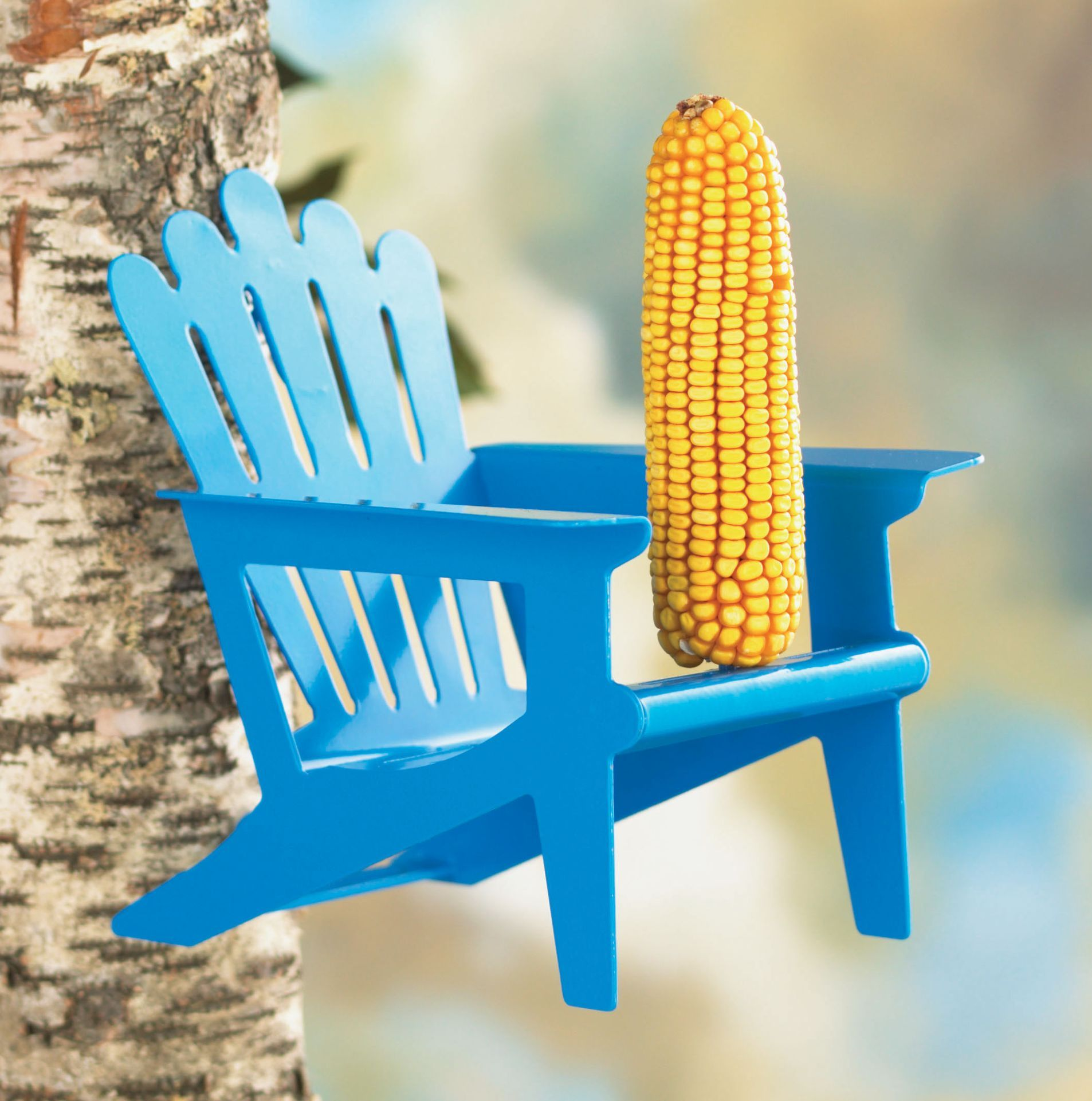 Squirrel Chair Feeder Teak Folding Hardware Adirondack Blue Feeders
