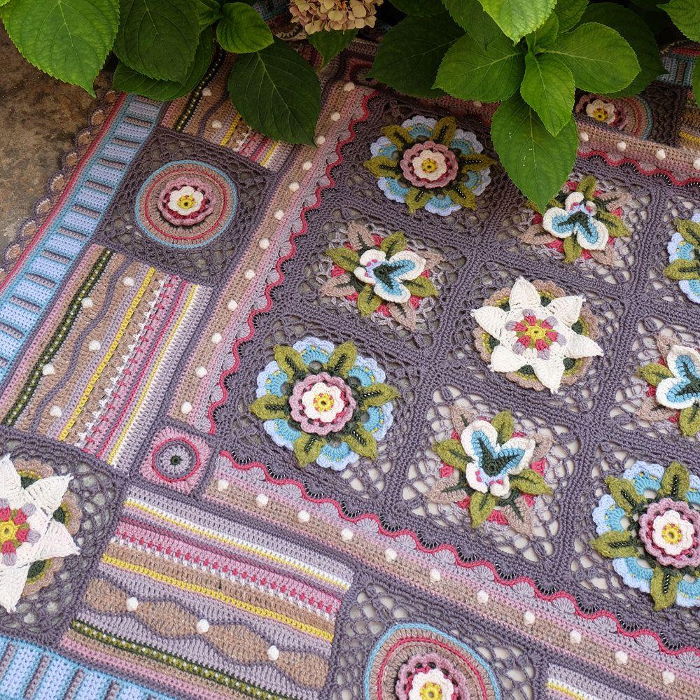 Bohemian Blooms | Pinterest | Crochet, Blanket and Afghans
