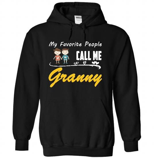 My Favorite People Call Me Granny with 1 boy 1 girl brown hair T Shirts, Hoodies. Get it now ==► https://www.sunfrog.com/Names/My-Favorite-People-Call-Me-Granny-with-1-boy-1-girl-brown-hair-4357-Black-28534765-Hoodie.html?57074 $34.99