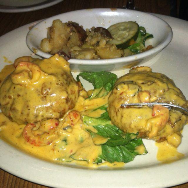 Best Crab Cakes!!! New Orleans Oceania :)