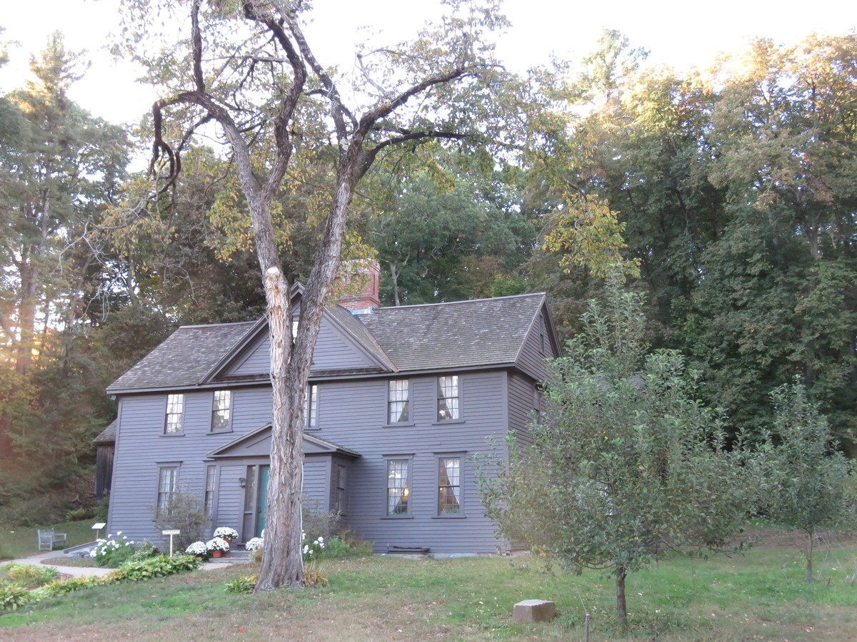 Louisa May Alcott S Childhood House Orchard House In Concord