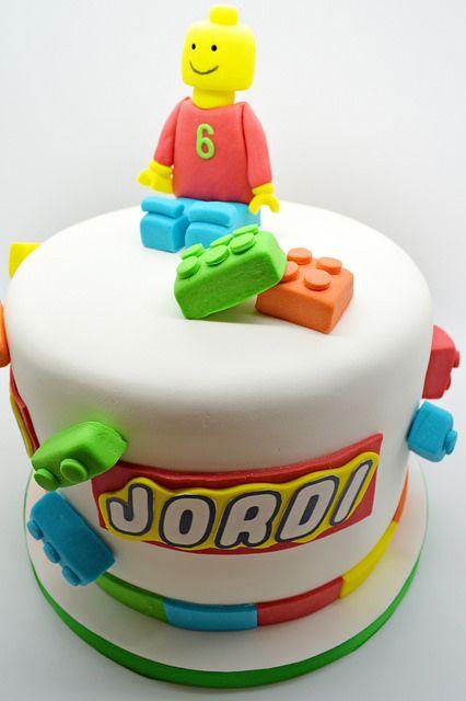 Patricia creative cakes party 4 kids pastel de lego - Bizcocho cumpleanos para ninos ...