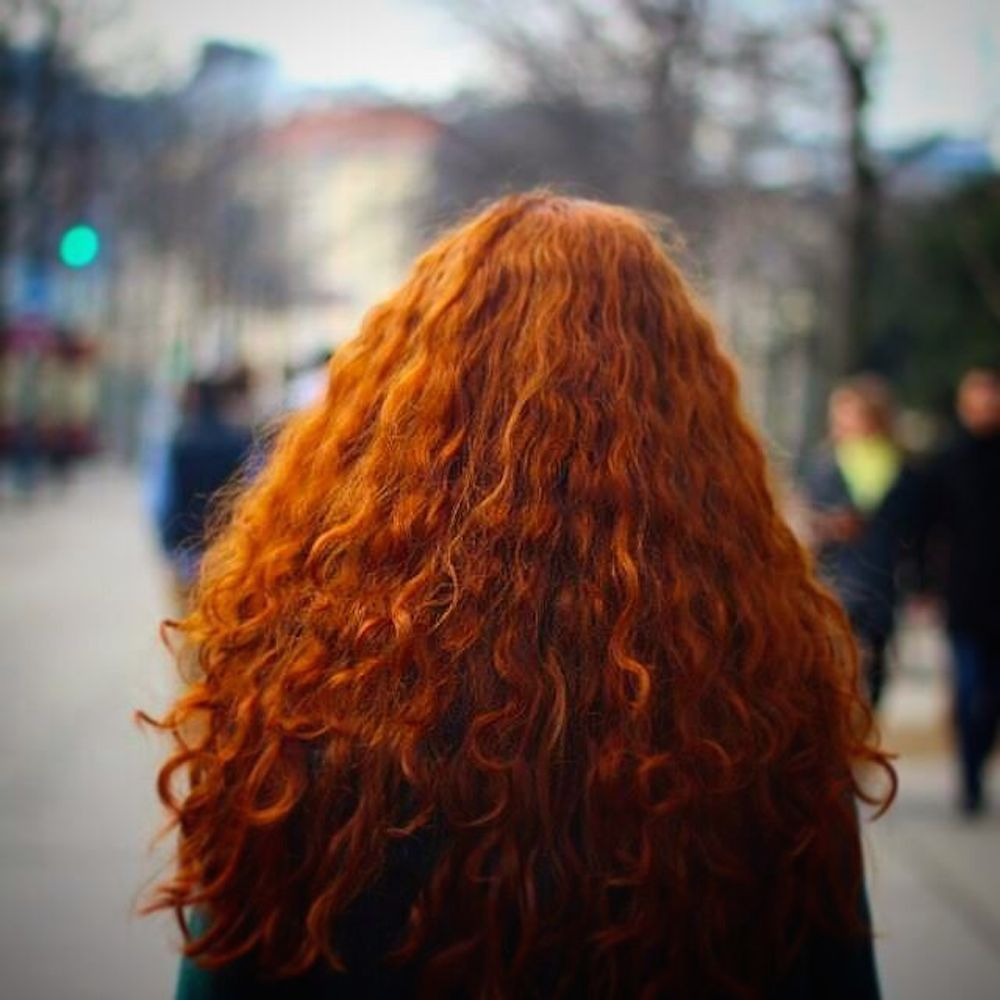 Summer Hair Help For Curly Redheads  Curly Hair Styles -8560