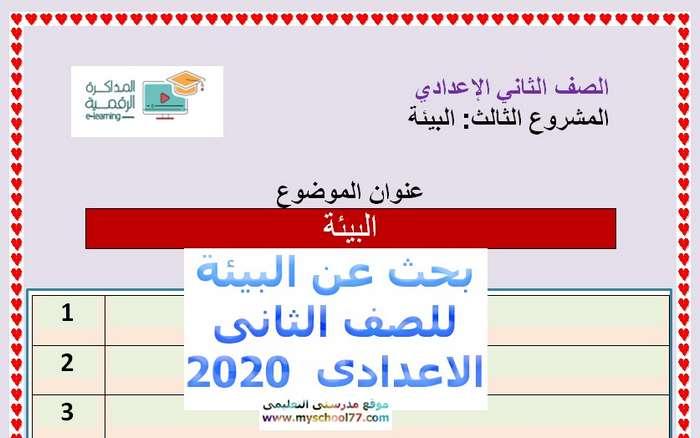 بحث عن البيئة لطلاب المراحل الاعدادية كامل جاهز للطباعة موجز مصر Egypt News Word Search Puzzle Wedding
