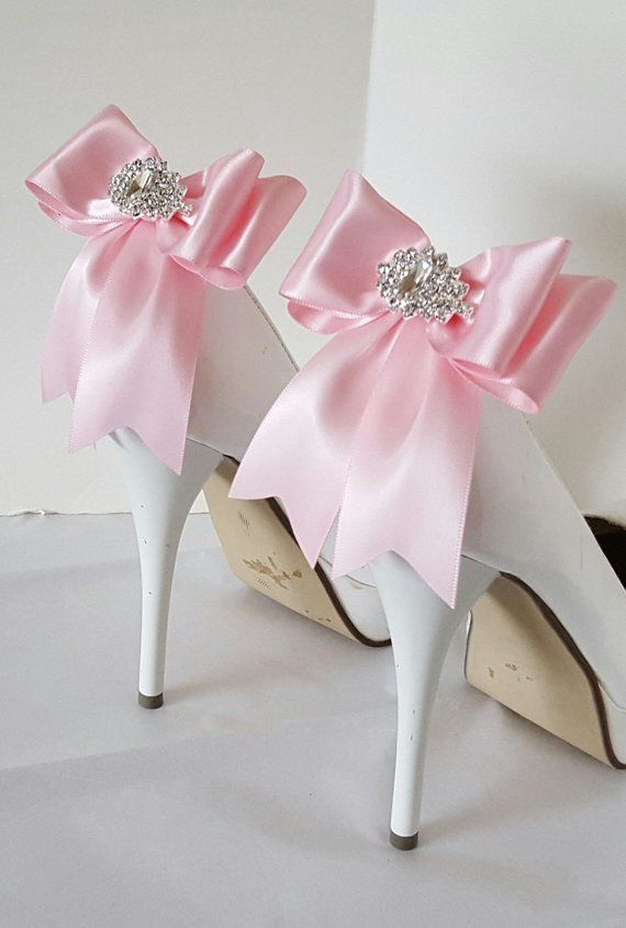 da0eeec5f7b9 Light Pink Wedding Shoe Clips