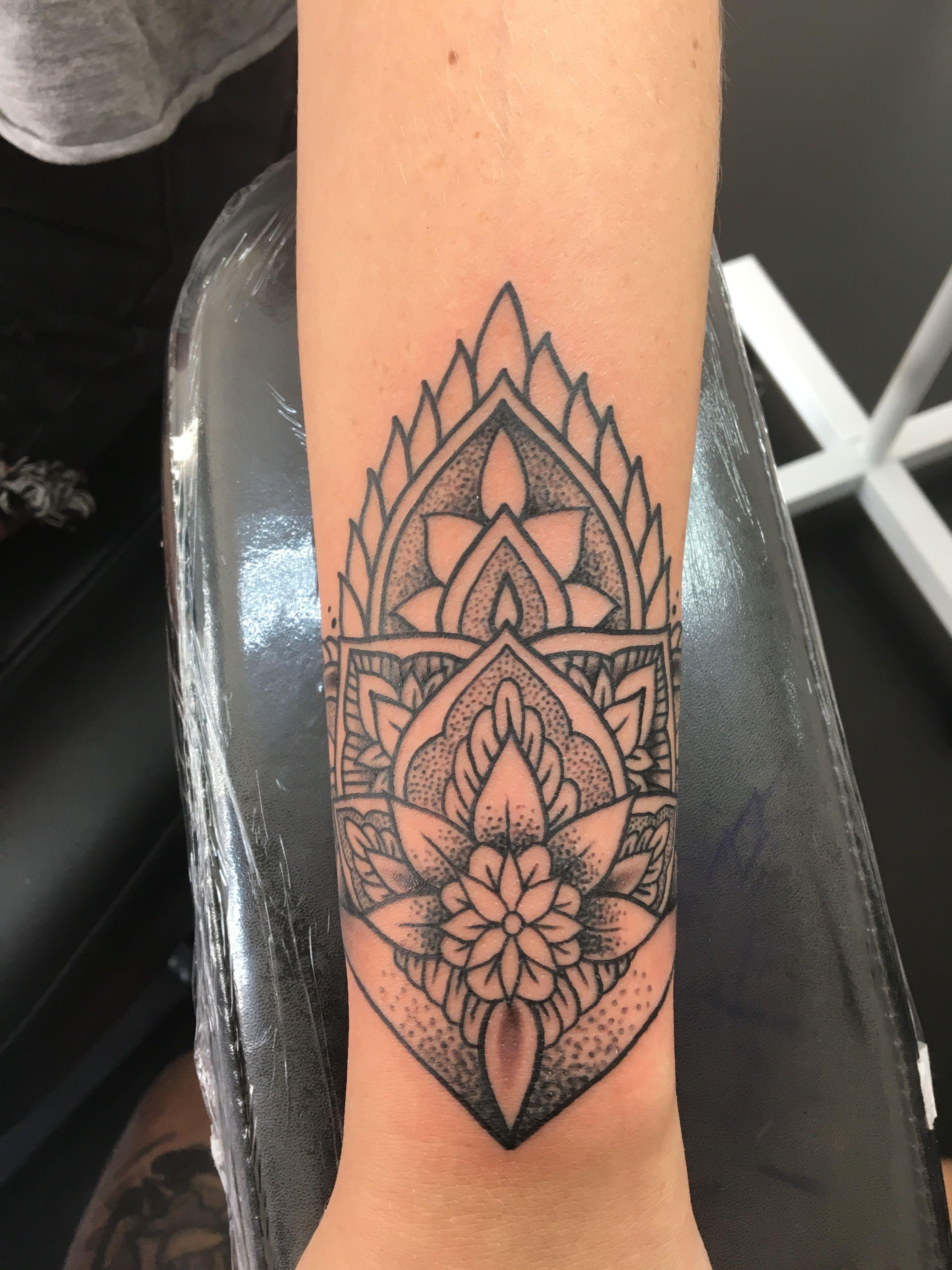 Mandala wrist tattoo mandala tattoo wrist wristtattoo
