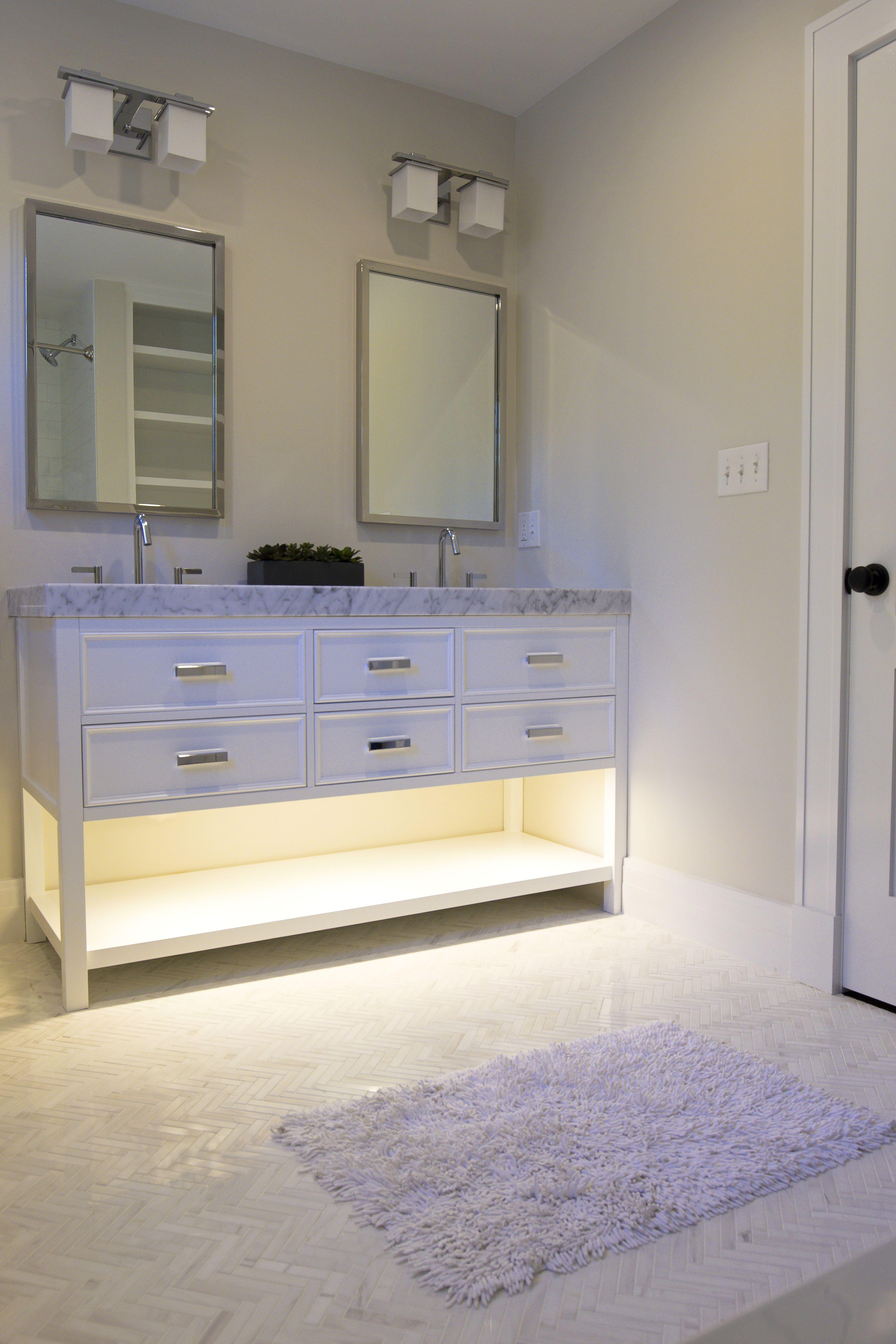 1 Bar LED Under Cabinet Lighting Kit Warm White 24 In