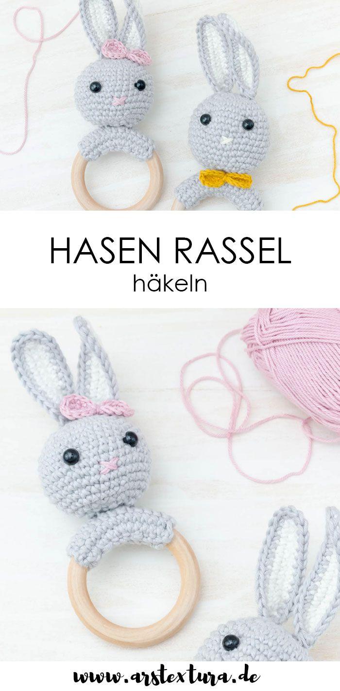 Photo of Häkeln Sie Kaninchenrassel – ein tolles DIY-Geschenk für die Geburt | ars textura – DIY Blog