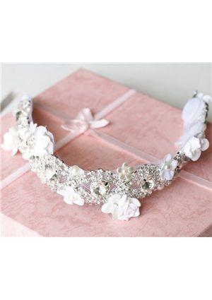 Alloy With Rhinestone Wedding /Bridal Tiara