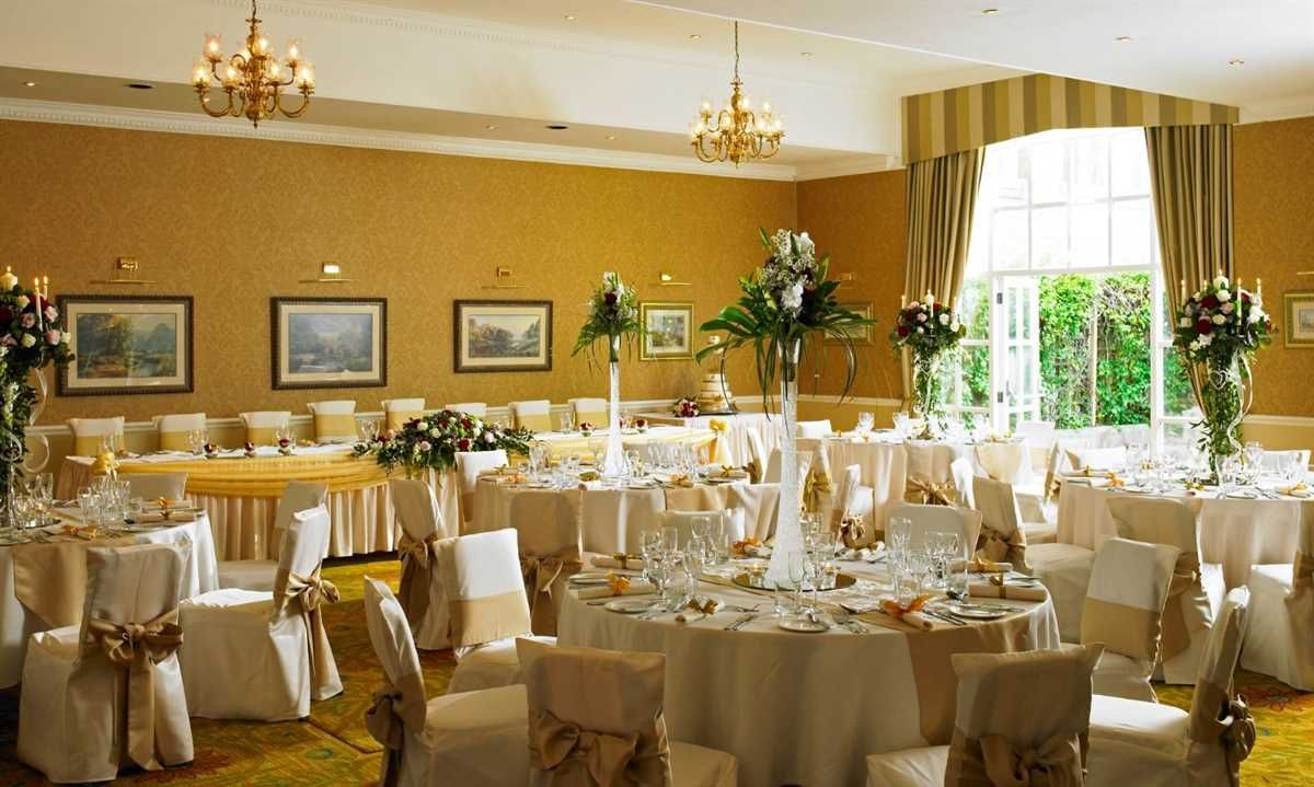 Hollins Hall Marriott Hotel Country Club In West Yorkshire