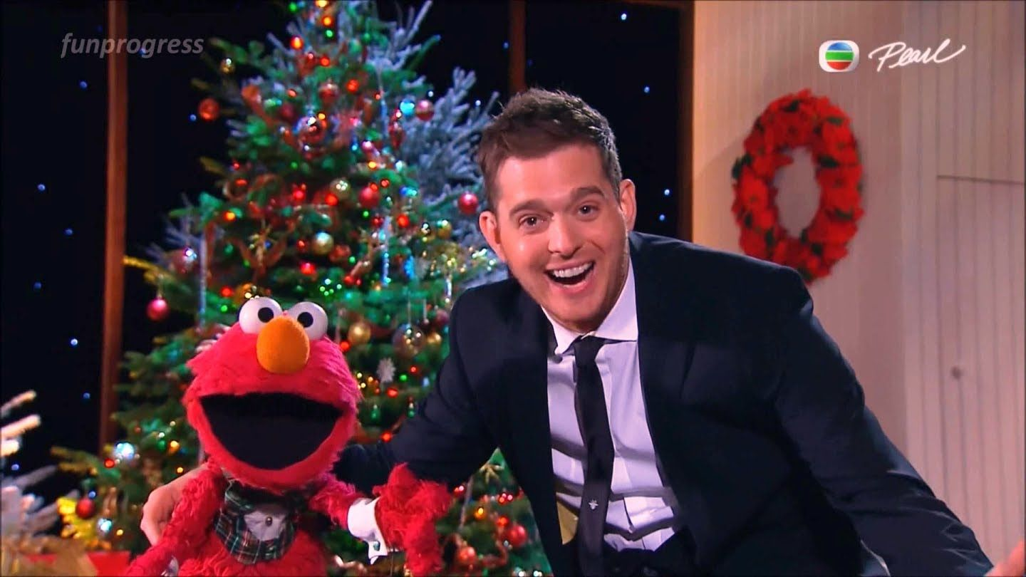 All I Want For Christmas Is My Two Front Teeth Elmo Michael Buble L Country Christmas Music Christmas Music Holiday Songs