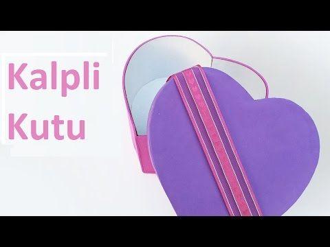 Kalpli Makyaj vb. Kutusu - Yapımı ( kolay ve şık ) - YouTube