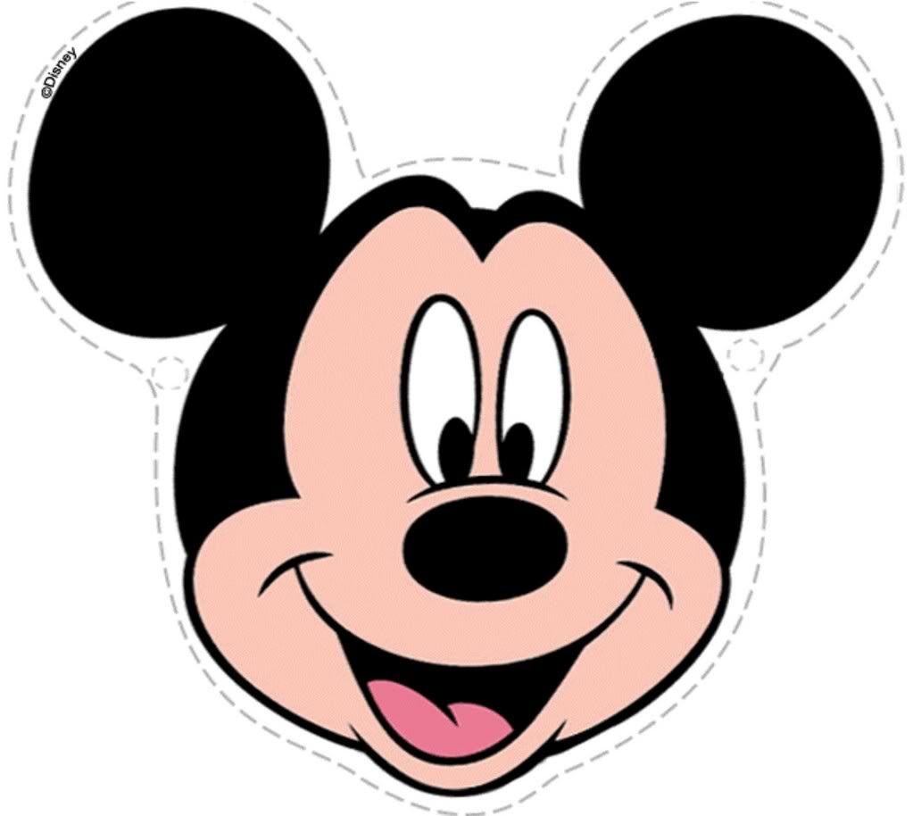 Fotos De La Cara De Mickey Mouse Buscar Con Google Molde De