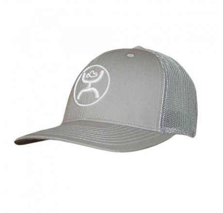 finest selection 6a41e 53005 Hooey Cody Ohl Signature Grey Mesh Snapback Trucker Cap