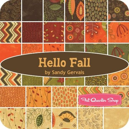 Hello Fall Jelly RollSandy Gervais for Moda Fabrics ...