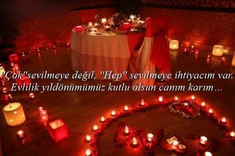Evlilik Yil Donumu Sozleri Cok Iyi Abi Table Decorations Candles Birthday Candles
