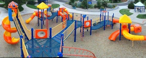 Eight Unusual Denver Metro Playgrounds Playground Travel With Kids Public Playground