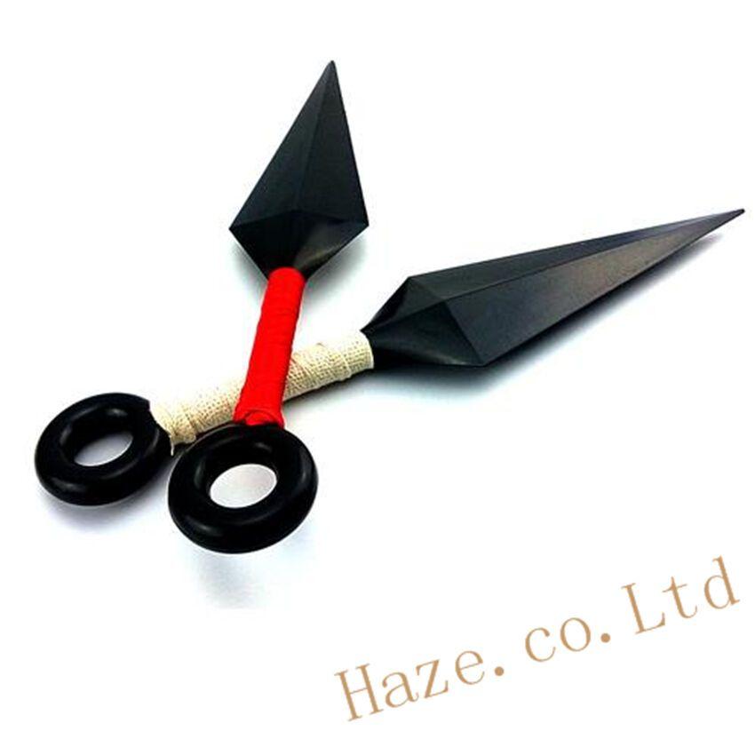 Naruto Kunai Ninja Shuriken Sword Prop Plastic Cosplay Toy