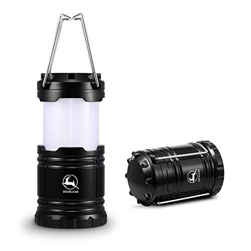 Camping Lantern DEERLEAD Ultra Bright LED Lantern Light Lamp Flashlight for Hiking Emergencies Hurricanes Outages Storms Camping  WaterResistant  Lightweight Black >>> Click image for more details.Note:It is affiliate link to Amazon.