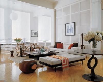 Dekorieren Sie mit Feng Shui im Wohnzimmer