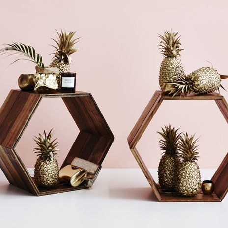 Space to Create Hexagon sidetables
