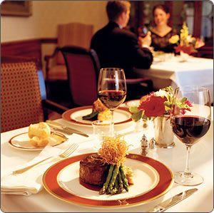 Dining at The Biltmore Estates Inn