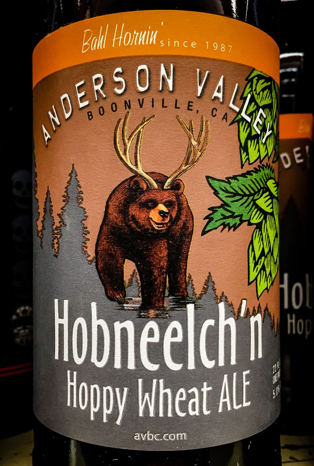 Anderson Valley Hobneelch'n Hoppy Wheat Ale - Booneville California