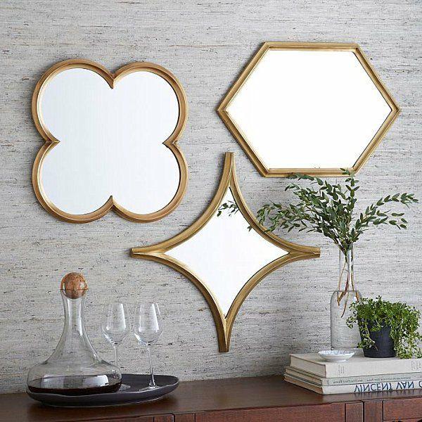 wanddeko fürs esszimmer spiegel rahmen originell | deco ratio, Hause deko