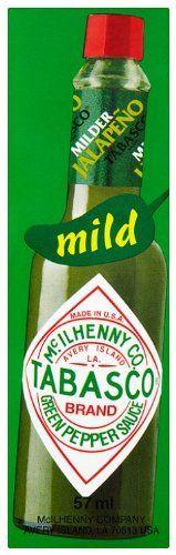 Salsa Tabasco Verde 57 ml