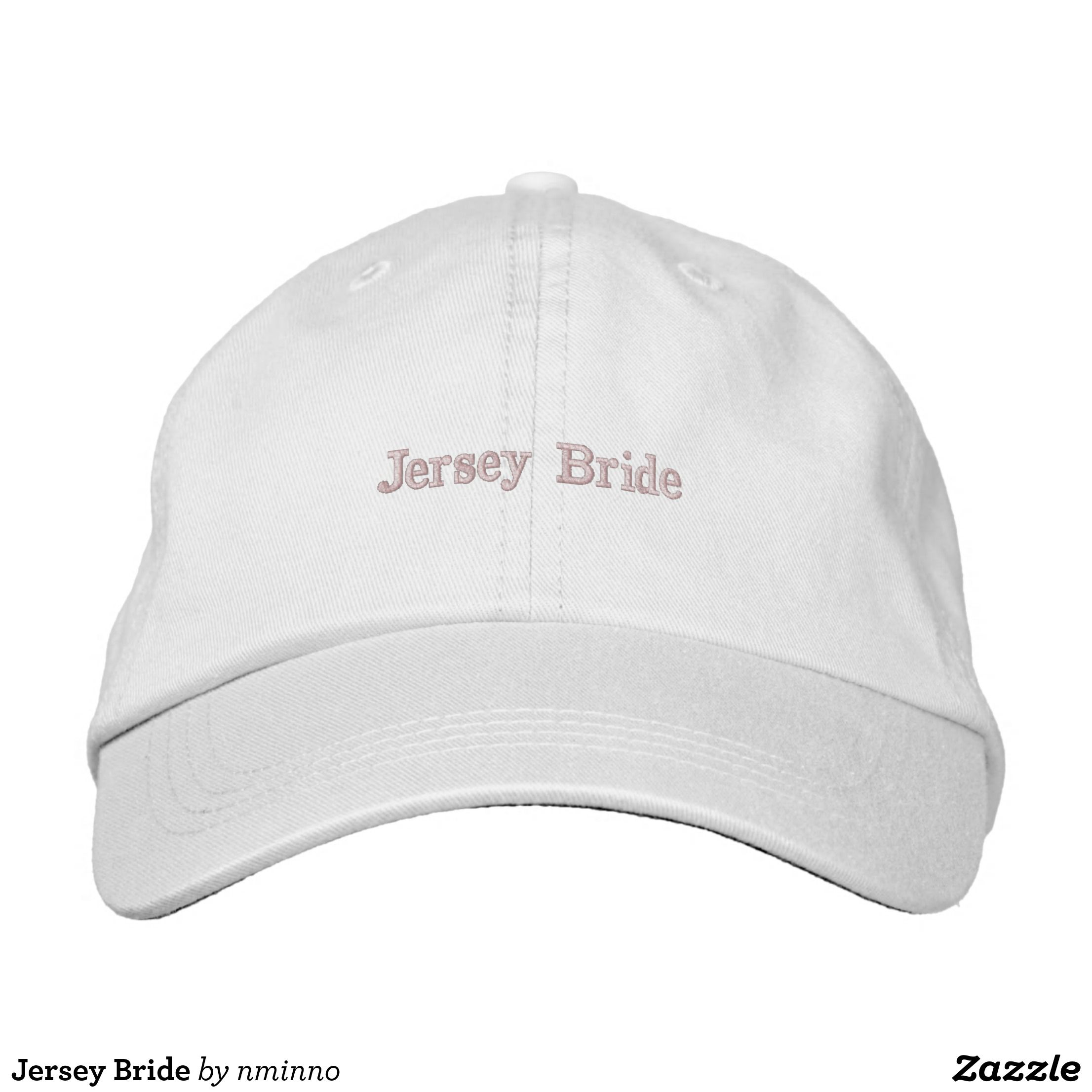 33c40e02 Jersey Bride Embroidered Baseball Cap - Urban Hunter Fisher Farmer Redneck  Hats By Talented Fashion And Graphic Designers - #hats #truckerhat  #mensfashion ...