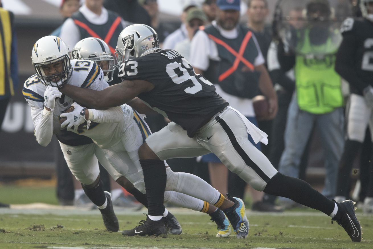 Raiders vs. Chargers Week 10 Viewing Guide Game time TV