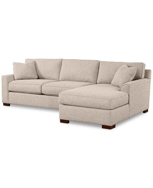 Awesome Furniture Carena 2 Pc Fabric Chaise Sectional Sofa Created Ibusinesslaw Wood Chair Design Ideas Ibusinesslaworg