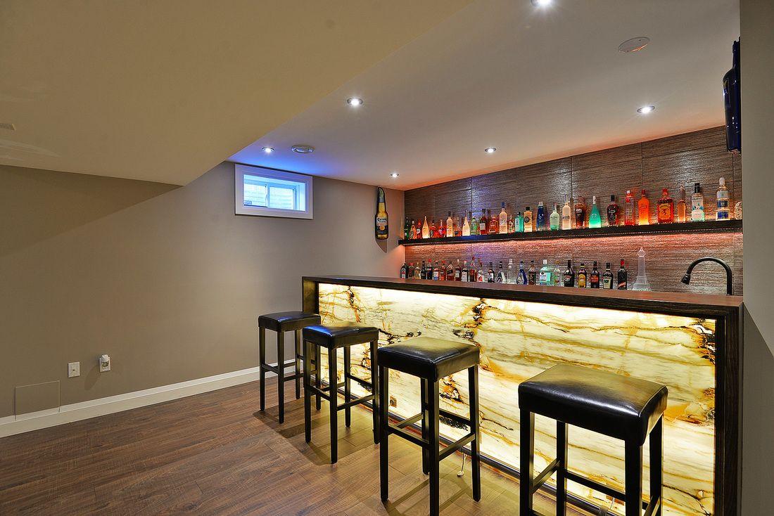 Custom bar by wilde north interiors toronto canada
