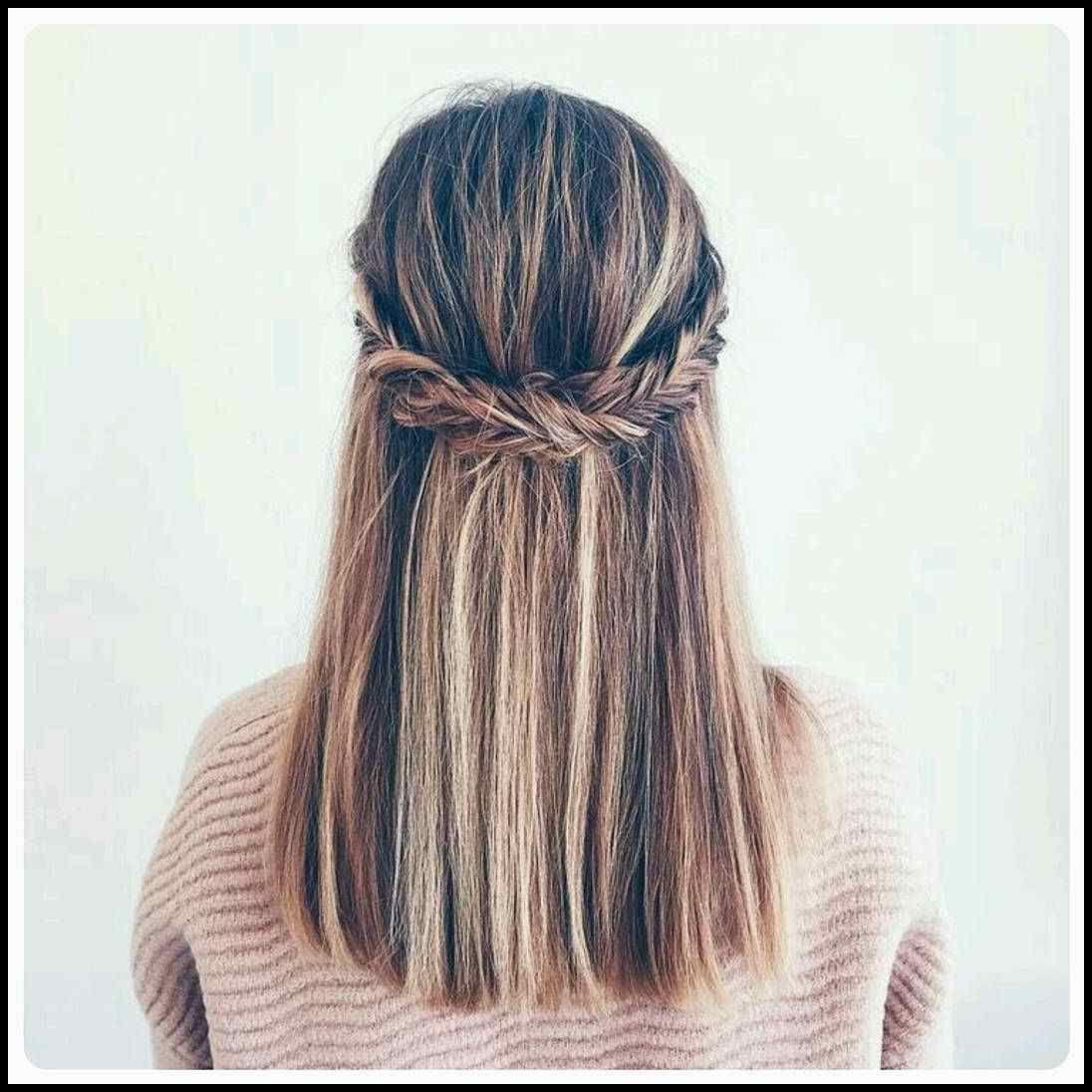 60 Cute Easy Half Up Half Down Hairstyles For Wedding Prom And Frisuren Tutorials Medium Hair Styles Hair Styles Long Hair Styles