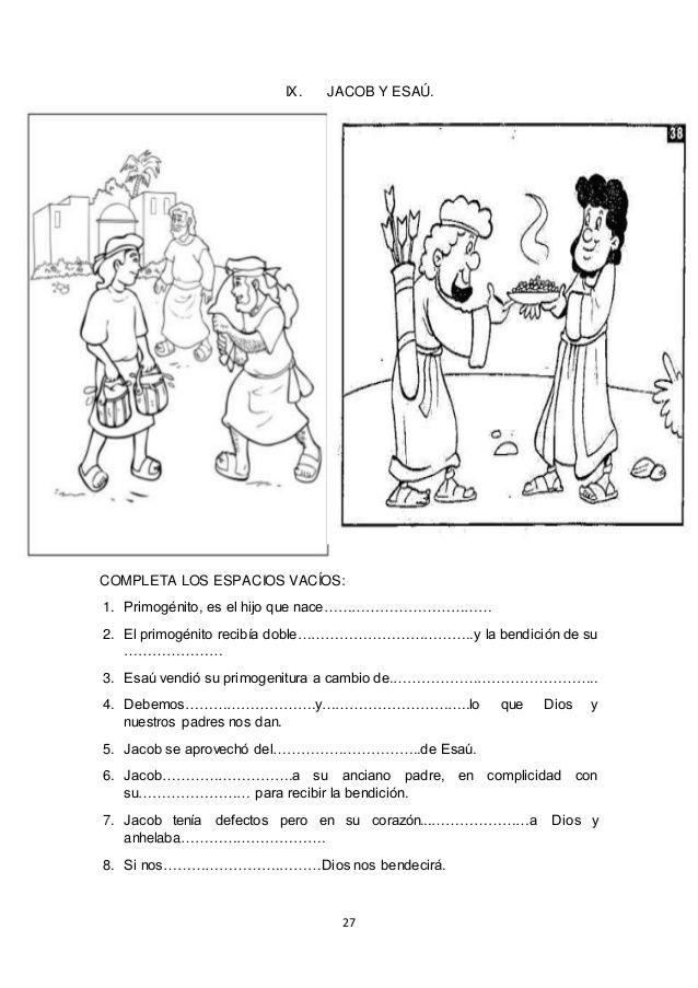 Magnífico Colorear Jacob Y Esau Bandera - Dibujos Para Colorear En ...