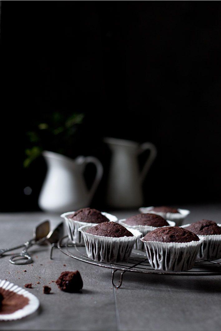 Schokoladen Orangen Muffins Rezept Magdalenas Y Muffins