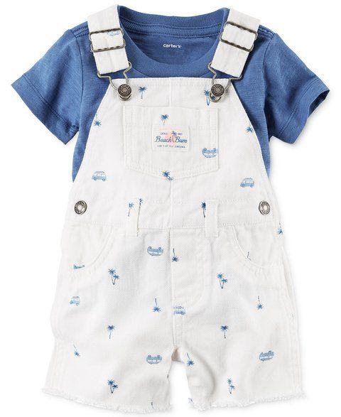 ac8ff3bafe4f36 Macacão jeans Carters | Models kids | Moda de bebê menino, Roupa ...