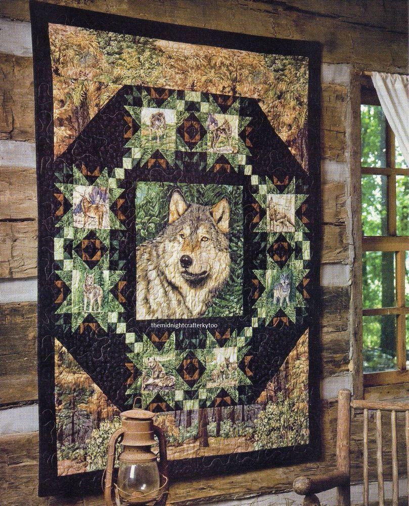 Peaceful Pines Quilt Pattern Pieced JW