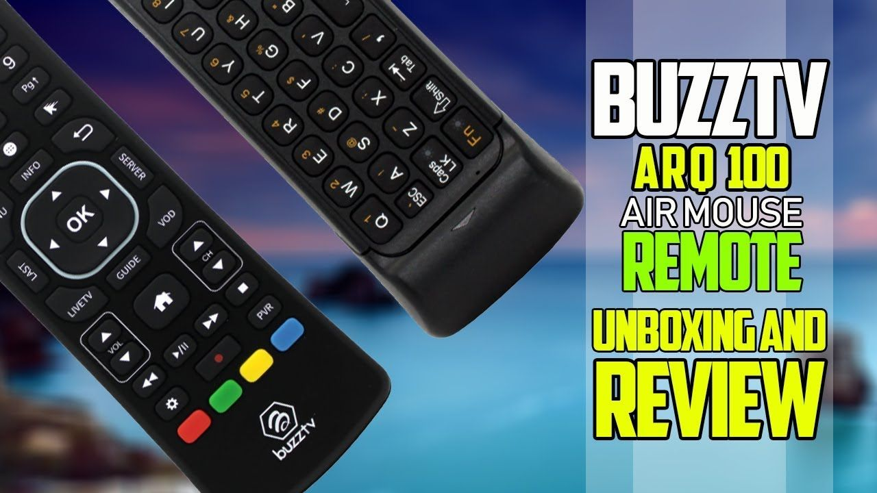 bcfa5a465c4 Best Air Mouse Remote By Buzztv Model ARQ 100 - Unboxing And Review ...