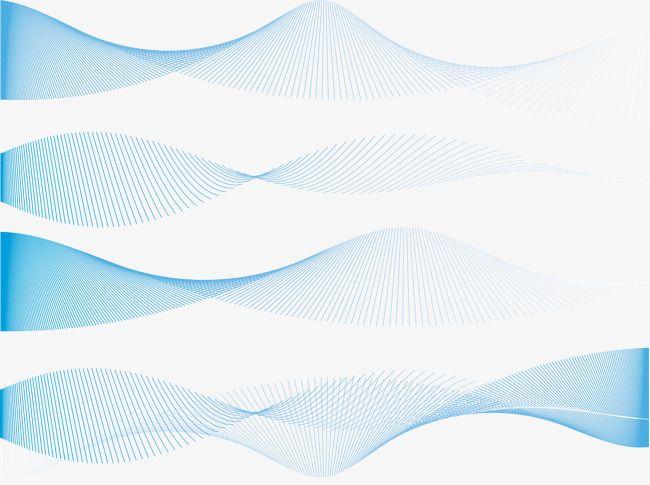 Vector Exquisite Blue Dynamic Lines Texture Curved Lines Line Texture Texture Vector Geometric Vector