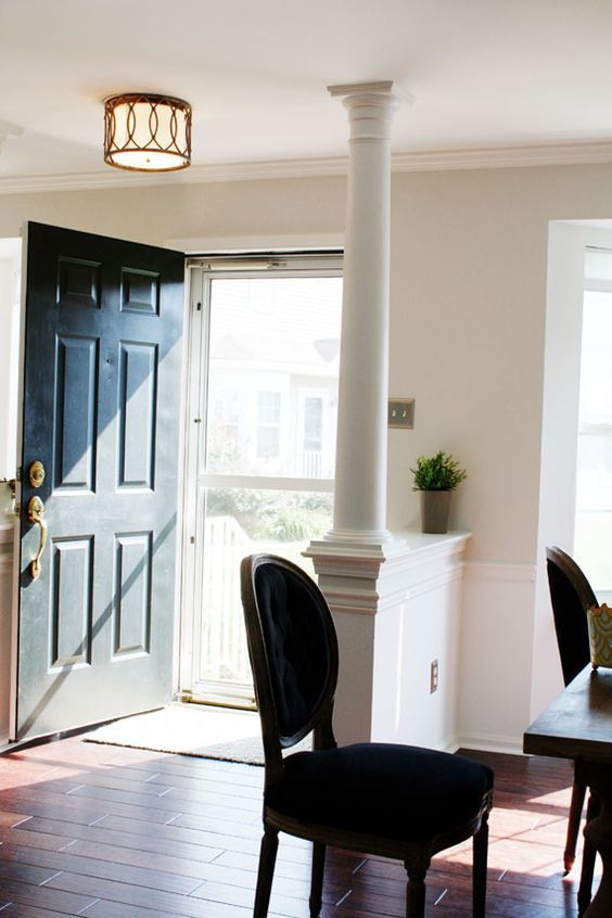 Front door opens into dining area google search - Doors to separate kitchen from living room ...