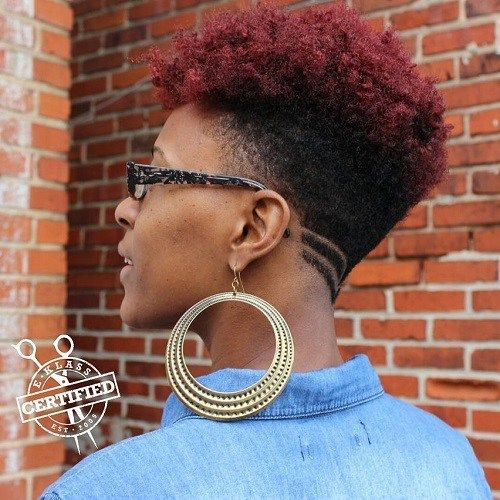 Short Hair For Teens Short Hairstyles Thick Hair Black Girl Short Ha Short Hair Styles African American Thick Hair Styles Natural African American Hairstyles