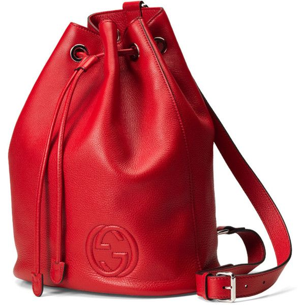 03be6b3a9f9 Gucci Soho Leather Drawstring Backpack ( 1