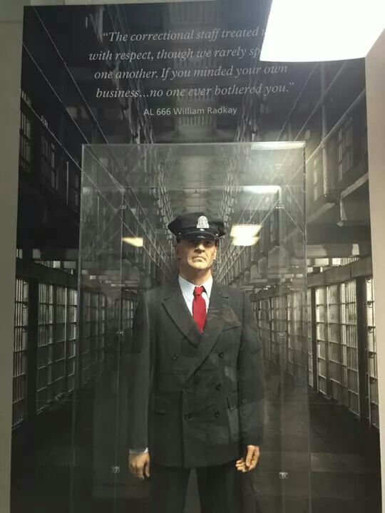 Alcatraz Prison Guard Uniform On Display At The Rock In San