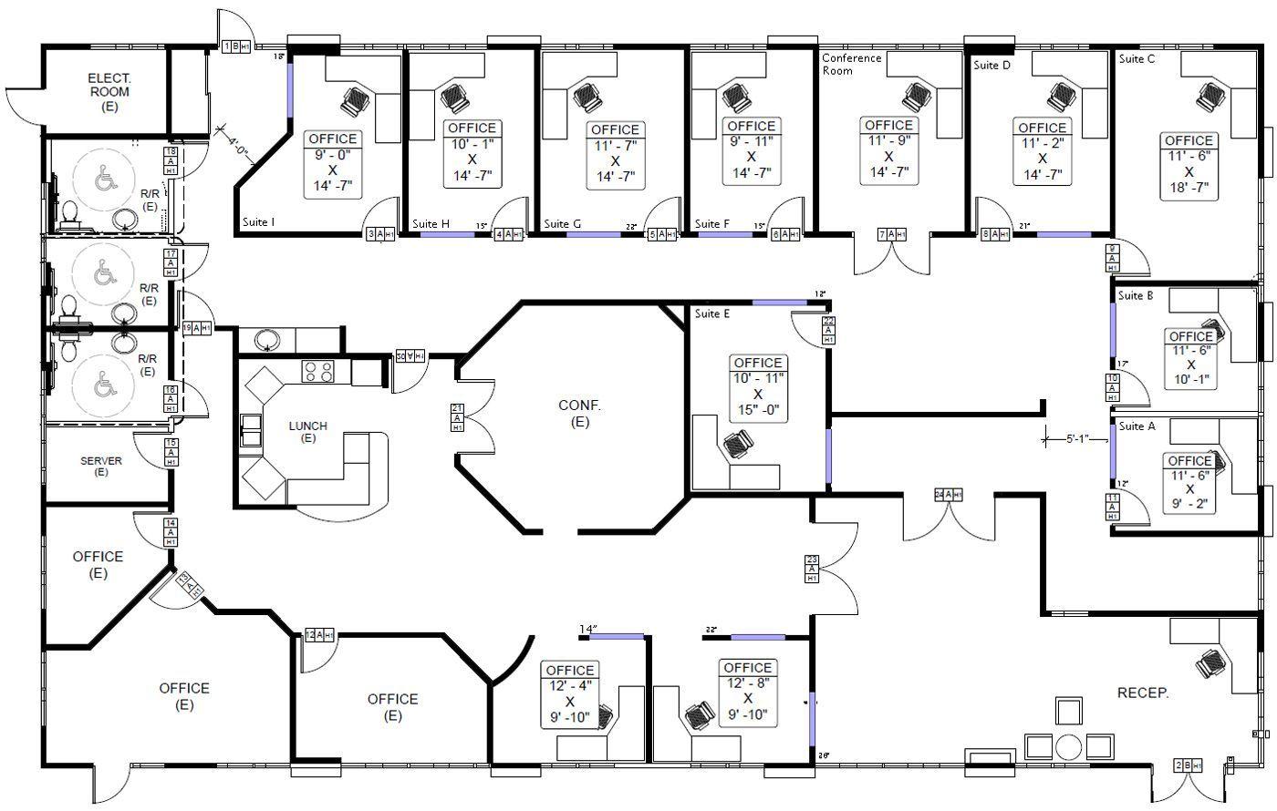 New Homes U2013 The Design Process U2026 Sunshine Coast Commercial Building Plans Office Floor Plan Office Layout Plan