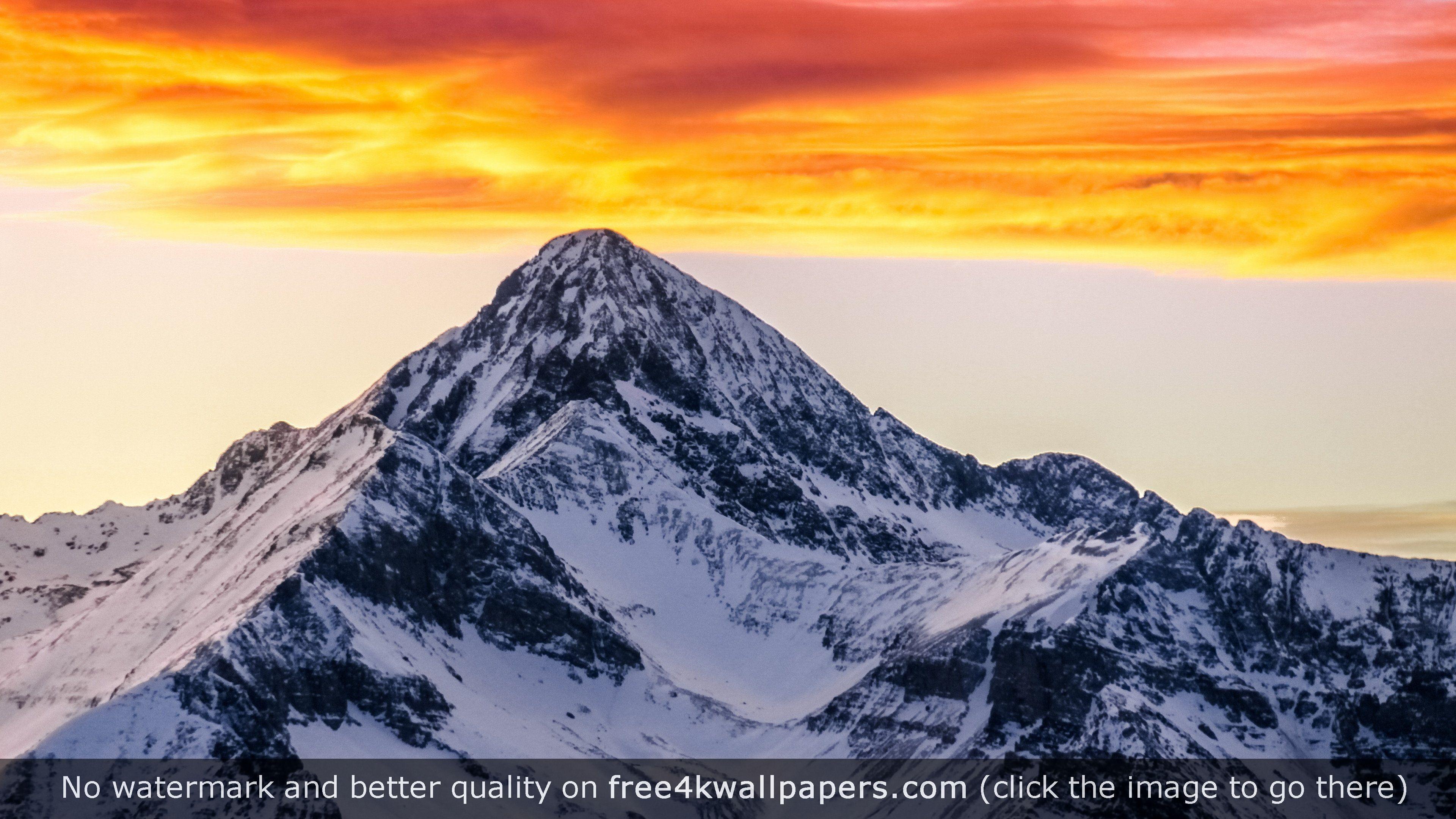 Wilson Peak in the Colorado Rocky Mountains 4K wallpaper
