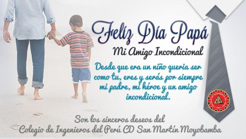 Invitación Por El Dia Del Padre Tarjeta Papa