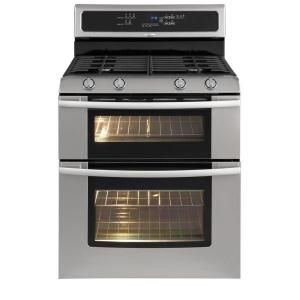 Charmant Double Oven Gas Range With Self Cleaning Oven In